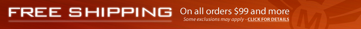 Free Shipping on orders $99 and more